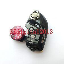 Function Dial Model Shutter Button Label For Nikon P610 Top Switch Cover Red