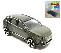 Majorette Peugeot 3008 GT Dark Green 1/61 205L no Package Free Display Box