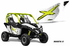 AMR Racing Can-Am Commander/Mave UTV Door Graphics Wrap for CanAm OEM Doors 2 MX