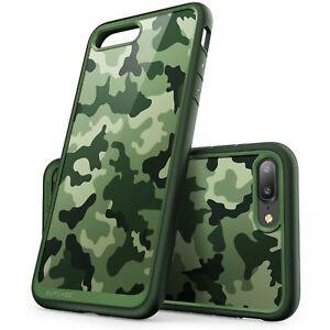 Case SUPCASE UNICORN BEETLE Style for Apple IPHONE 7 PLUS, 8 PLUS - Camo GREEN