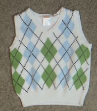 Gymboree  Argyle V-Neck Sweater Vest Size 6-12 6 12 Months