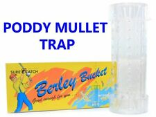 Surecatch Poddy Mullet Trap (Clear Plastic)