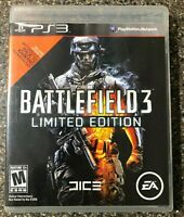 Battlefield 3 -- Limited Edition (PlayStation 3 PS3) Complete w/ Manual Tested