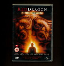 Red Dragon (DVD, 2003, 2-Disc Set) Anthony Hopkins (REGION 2 not for USA)