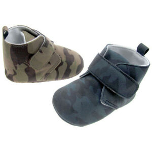 Baby Camouflage Booties/ Shoes/ Newborn to 12 month old/ Pre walker/ Pram shoes