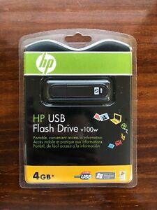 HP v100w USB Flash Drive 4GB