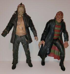 Neca Nightmare Freddy Krueger Jason Figure Cult Classic Reel Toys 2005 Loose Lot