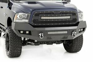 Rough Country Ram Heavy-Duty Front LED Bumper 13-18 1500