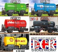 G SCALE 45mm GAUGE RAILWAY TRAIN TANKER TRUCK COMPATIBLE WITH BACHMANN LGB NQD