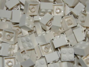 LEGO 40 x WHITE BRICKS 2 x 2  No 3003  CITY-STAR WARS-FRIENDS-MOVIE