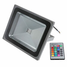 50W 30W 20W 10W RGB  Warm Cool LED Wash Flood Light Lamp Garden Waterproof IP65