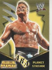 SHAWN STASIAK SIGNED 2002 FLEER #85 - WWE LEGEND - MEAT