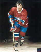 MONTREAL CANADIENS GUY LAPOINTE SIGNED 8x10 PHOTO w/COA