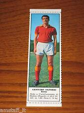 *GENNARO OLIVIERI ROMA=FIGURINA=1966/67=ALBUM FIGURINE CALCIATORI TEMPO