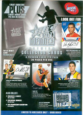 2011 AFL Select Infinity common set and album and pages