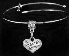 Auntie bracelet Special auntie bracelet Aunt jewelry Auntie gift best aunt love
