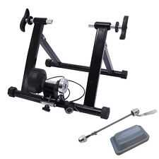 Indoor Exercise Bicycle Trainer Magnetic 7 level Resistance Stand Stationary