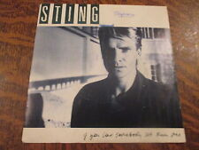 45 tours Sting - If you love somebody set them free