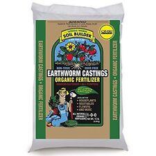 15 Lb Wiggle earth Worm Soil Builder Earthworm Castings OMRI Listed Organic Fert