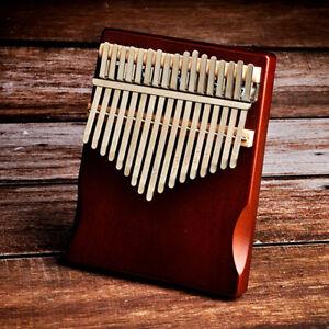 17 Key Kalimba Thumb Piano Finger Piano Wooden Music Instrument Pine Brown ###