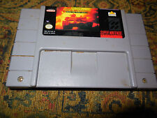 Garry Kitchen's Super Battletank: War in the Gulf (Super Nintendo, 1992) FREE SH
