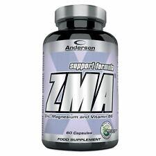 Anderson Research - ZMA 60 cps - Zinco Magnesio Vitamina B6 - Anabolico naturale