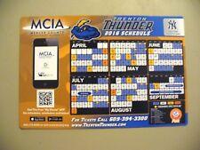 MILB - Trenton Thunder 2016  Magnetic Schedule - NEW
