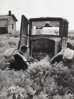 1935/66 Vintage BROKEN JUNK TRUCK Landscape Oregon Art 16x20 ALFRED EISENSTAEDT