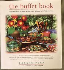 Buffet Book Inspired Ideas for New-Style Entertaining Peck 1st ed • Cookbook