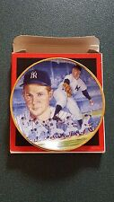 "Whitey FOrd  3 1/4"" Gartlan Plate - New York Yankees"