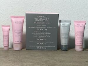 """Mary Kay TimeWise Miracle Set 3D """"The Go Set"""" - FRESH - FREE SHIPPING"""