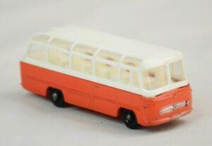 VINTAGE 1965 MATCHBOX LESNEY No68 MERCEDES BENZ COACH BUS 1/64 DIECAST ENGLAND