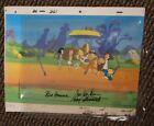 Hanna-Barbera Original Production Cel The Jetsons The Flintstones Signed Iwao