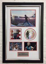 "Bruce Springsteen FRAMED Autograph ""THE BOSS"" GENUINE Signed CD AFTAL COA (J)"