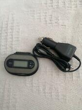 Belkin TuneCast II Mobile FM Transmitter VGC grey inc car charger