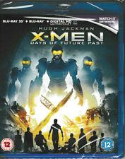 X-Men - Days of Future Past - 3D Blu Ray + blu ray + Digital - Brand New & Seale