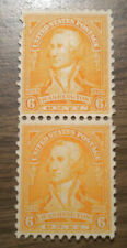 One US pair  -  # 711 - from 1932 -  Washington  -  some OG - NH