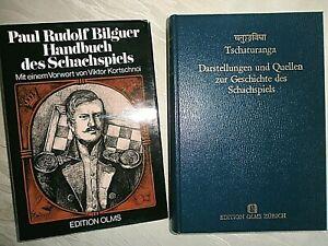 Schach  Olms Tschaturanga, Handbuch des Schachspiels von Bilguer , Reprint 1843
