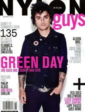 Nylon Guys Magazine November 2012 fashion GREEN DAY BILLIE JOE ARMSTRONG