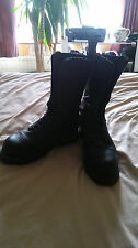 Grinder Boots 14 Hole size 8 See all pics
