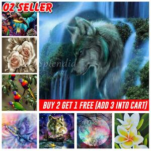 5D Diamond Painting Art Full Drill Embroidery Cross Stitch Kits Home Decor Craft