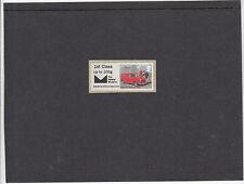GB 2016  Post & Go Postal Museum Heritage Transport single 1st class stamp mint