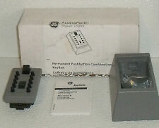 GE Accesspoint Keysafe Pushbutton Combination Keybox Permanent