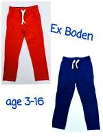 Boys Warrior Knees Jogging Joggers Sweatpants BODEN Age 3-16 Years RRP £24