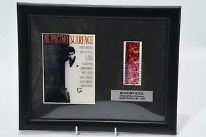 SCARFACE Al Pacino Original 35mm Filmcell Limited Edition & Certificate Framed
