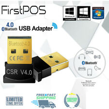 USB Wireless Bluetooth Adapter V4.0 CSR Dongle For Windows 7/8/10 PC Laptop