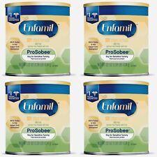 🍼NIB 4 Cans Enfamil ProSobee 22.oz SoyBased Infant Formula, Sensitive Tummies