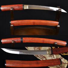 """20"""" JAPANESE SAMURAI SHIRASAYA SWORD TANTO Clay Tempered SHINOGI-ZUKURI Blade"""