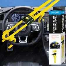 Traditional Heavy Duty Car Steering Wheel Lock Bar Hook Anti Theft Protection
