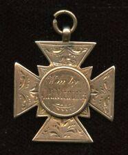 "Bicycle 5 Mile Race - 1st Place - 9kt Gold Medal - Engraved ""J.H.Nicholls"""